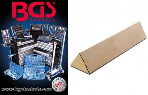 BGS poster in doos